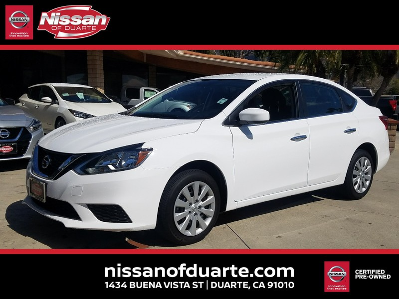 Certified Pre-Owned 2017 NISSAN SENTRA S CVT