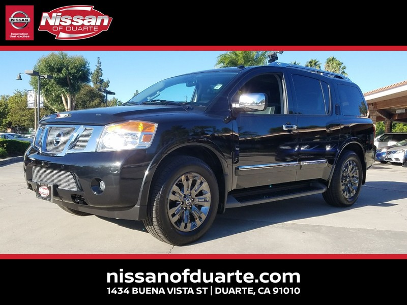 Pre-Owned 2015 NISSAN ARMADA 2WD 4DR PLATINUM