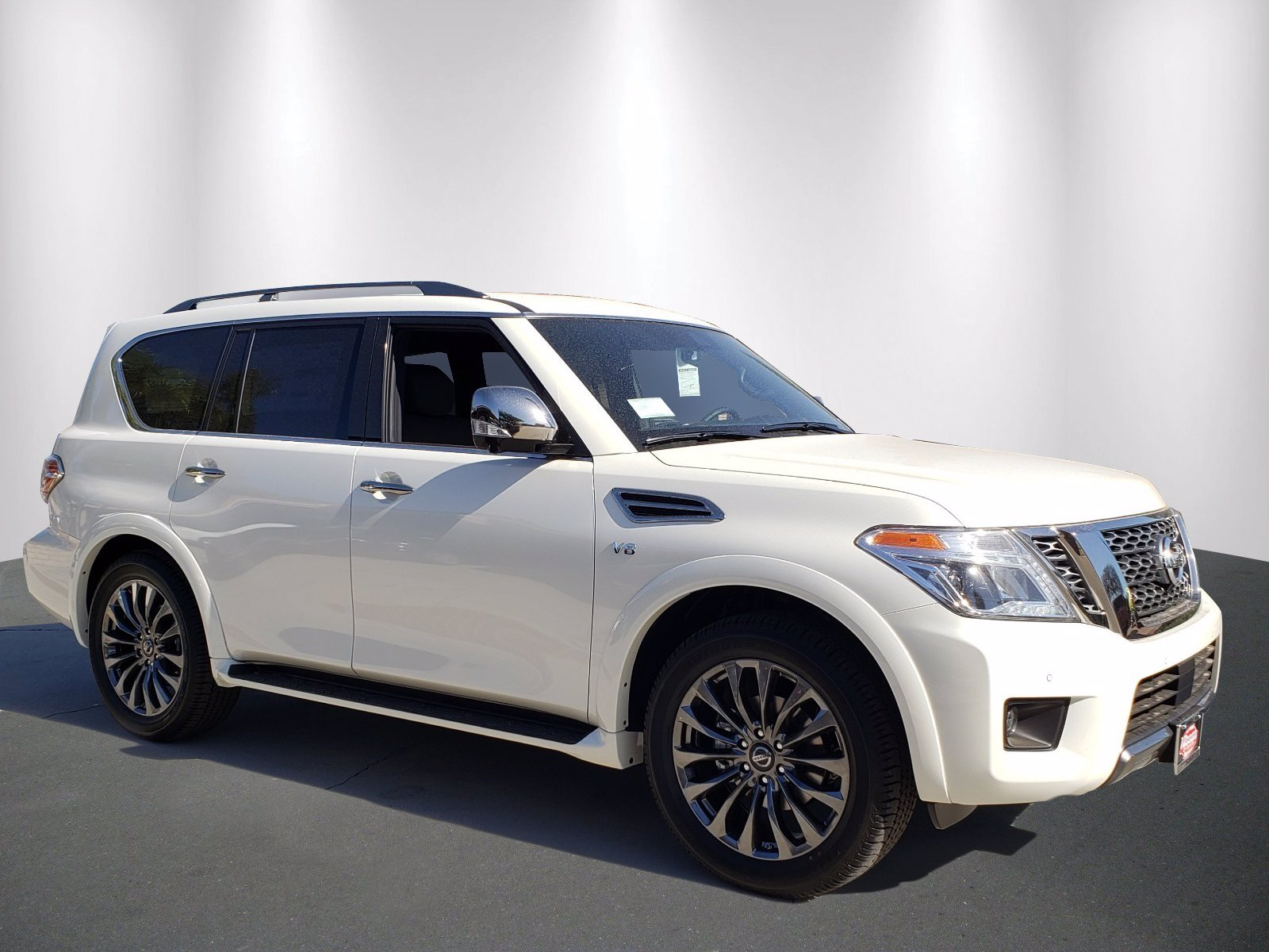 New 2020 Nissan Armada Platinum w/ Second Row Captains Chairs
